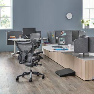 Silla de oficina ergonomica Herman Miller Aeron Carbon