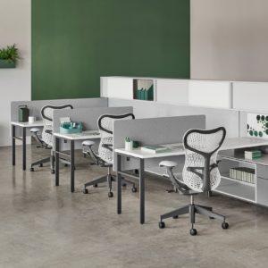 Silla de oficina ergonomica Herman Miller Mirra 2