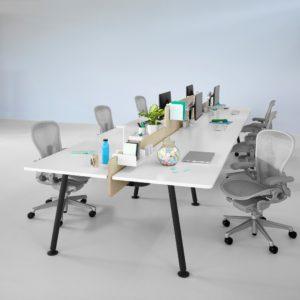 escritorios personales memo, de herman miller