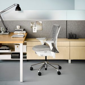 Silla de oficina ergonomica herman miller sayl