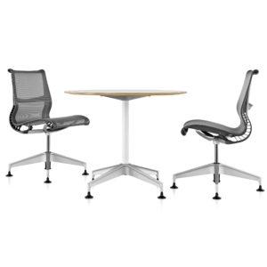 silla de escritorio sin ruedas herman miller setu